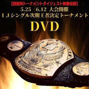 画像1: IJシングル次期王者決定トーナメント DVD【創設時トーナメントダイジェスト映像収録】 (1)
