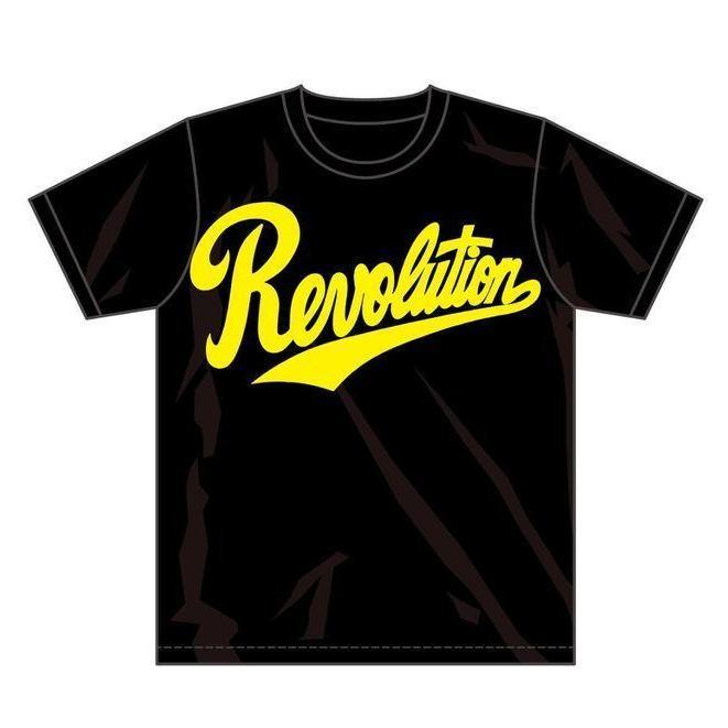 画像1: [初商品化]RevolutionTシャツ【黒×黄ver.】