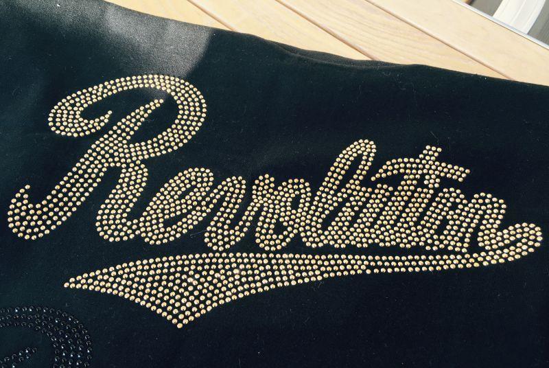画像3: 【SALE!!】RevolutionTシャツ(ラインストーンver.)