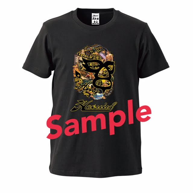 画像1: 【ハオミンコラボ】天龍×ICON MASK Tシャツ