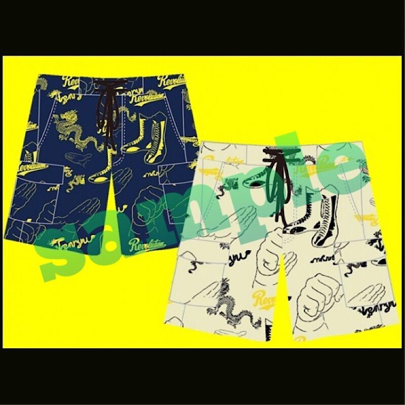 画像1: 【条件特典】天龍×ハオミン ショートパンツ