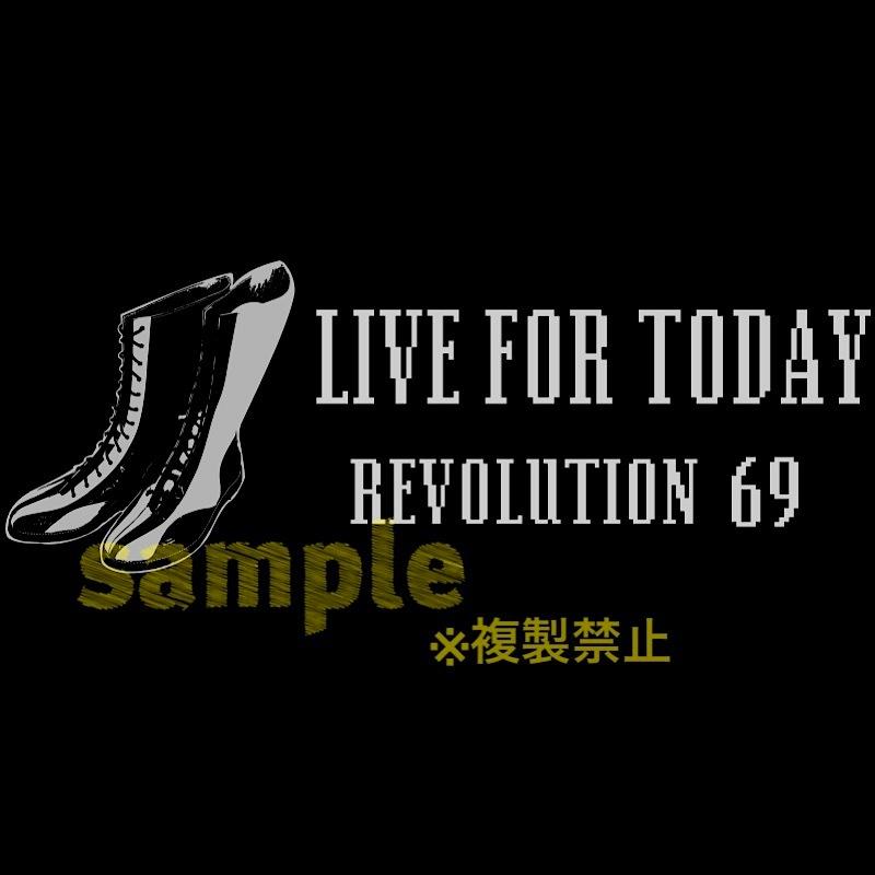 画像5: 【新作】LIVEFORTODAY&RevolutionラインストーンTシャツ