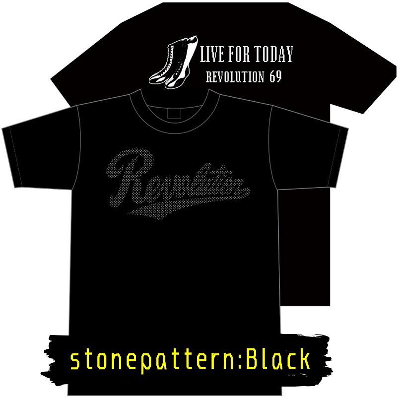 画像2: 【新作】LIVEFORTODAY&RevolutionラインストーンTシャツ