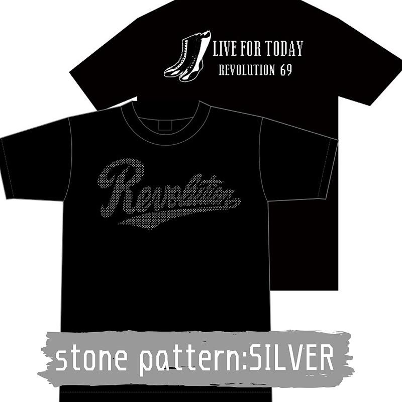 画像4: 【新作】LIVEFORTODAY&RevolutionラインストーンTシャツ