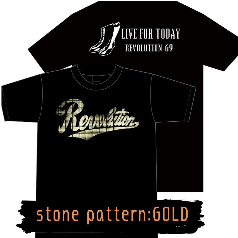 画像3: 【新作】LIVEFORTODAY&RevolutionラインストーンTシャツ